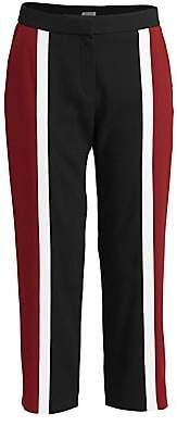Kenzo Women's Colorblock Cropped Slim Pants