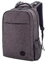 "Leke Diaper Bags High Capacity diaper backpack bag Multiple inside and out Pockets backpack mom TW-04 Star(16""Deep, 9.5""Wide, 11""Length) (Black)"