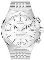 Edox Dolphin The Original Unisex Quartz Watch with Black Dial Analogue Display Quartz Stainless Steel 10106 3 AIN