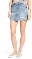 Mavi Jeans Women's Carmen Destroyed Denim Skirt