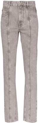 Etoile Isabel Marant Hominy high-rise jeans