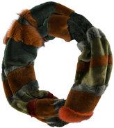 Liska panelled scarf
