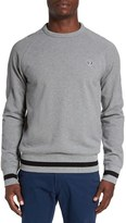 Fred Perry Men's Trim Fit Crewneck Sweater