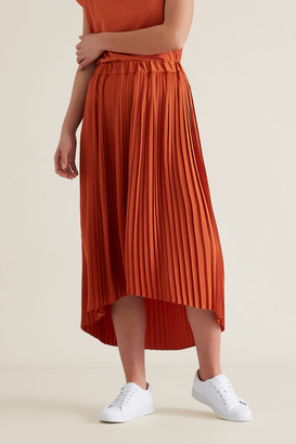 Seed Heritage Pleated Skirt