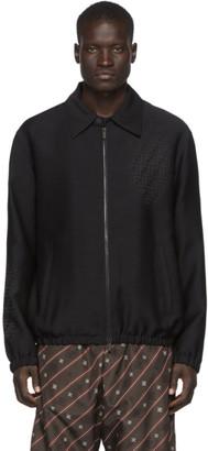 Fendi Black Forever Shirt Jacket