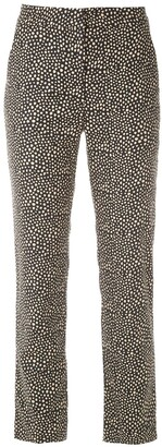 Egrey Printed Straight-Fit Trousers