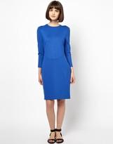 Baum Und Pferdgarten Ebere Body-Conscious Dress in Cobalt Blue