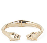 Alexis Bittar Face to Face Panther Hinge Bracelet