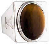Louis Vuitton Tiger's Eye Signet Ring