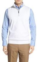 Bobby Jones 'Leaderboard' Pima Cotton Quarter-Zip Vest