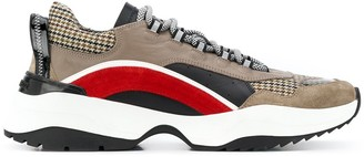 DSQUARED2 Panelled Low-Top Sneakers