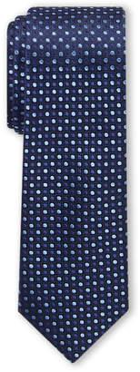 Isaac Mizrahi Boys 8-20) Navy Dot Silk Tie