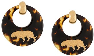 Gas Bijoux Tigre hoop earrings