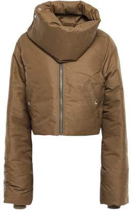 Rick Owens Cropped Shell Down Jacket