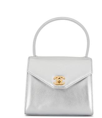 Chanel Pre Owned mini CC turn-lock tote