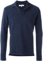 Orlebar Brown v-neck sweatshirt
