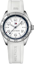 Tommy Hilfiger Sport Watch With Silver Bezel