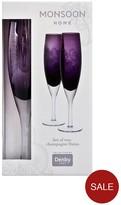 Denby Monsoon Cosmic Champagne Flute
