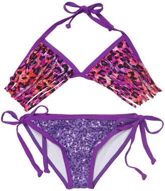 Dippin' Daisy's Sequin Bikini Top & Bottom Set