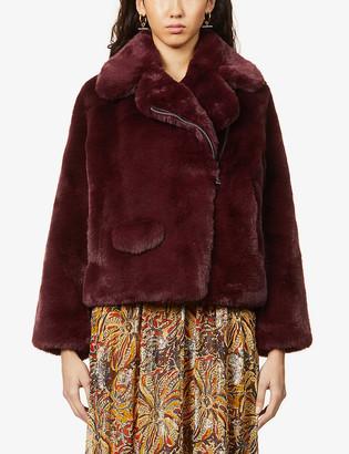 Zadig & Voltaire Freeze faux-fur coat