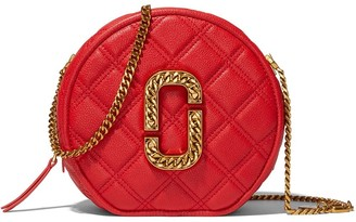 Marc Jacobs The Status round-shape crossbody bag