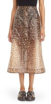 Christopher Kane Women's Frosted Midi Skirt