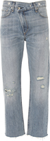 Rag & Bone Wicked Grommet Straight Jeans