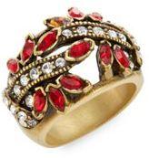 Heidi Daus Debut Elegance Swarovski Crystal Ring