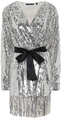 Rotate by Birger Christensen Samantha sequined dress