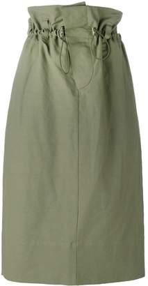 Stella McCartney paper bag waist skirt