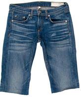 Rag & Bone Knee-Length Denim Shorts