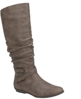 Cliffs by White Mountain Slouch Tall Shaft Boots - Franka
