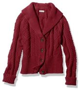 L.L. Bean Signature Cotton Fisherman Cardigan Sweater