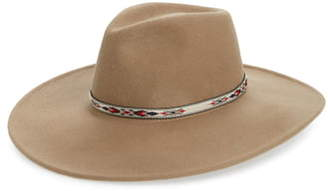 Noak Wide Brim Wool Panama Hat