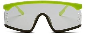 Kenzo Mens' Unisex Shield Sunglasses, 150mm