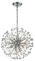 Starburst 9-Light Chandelier