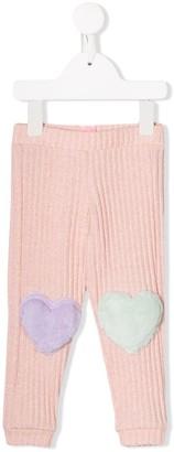 Wauw Capow By Bangbang ribbed knit leggings