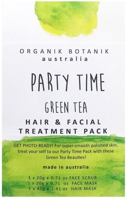Organik Botanik Party Time Face Green