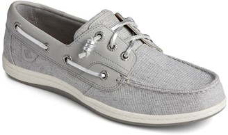 Sperry Songfish Sparkle Stripe Boat Shoe