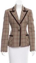 Valentino Wool Houndstooth Blazer