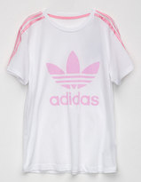 adidas 3 Stripes Girls Tee