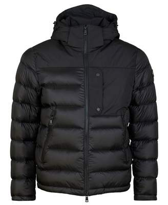 Paul And Shark Heavy Hooded Down Jacket Colour: BLACK, Size: LARGE