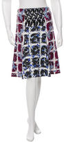 Peter Pilotto Printed A-Line Skirt