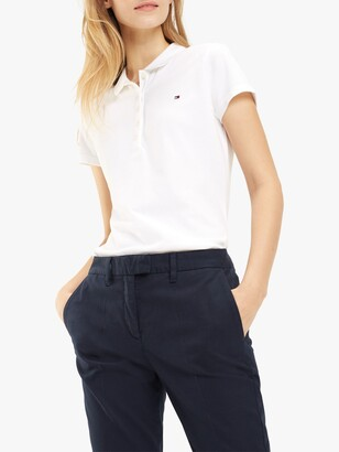 Tommy Hilfiger Slim Fit Long Sleeve Polo Shirt