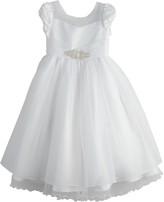 Bonnie Jean Girls 7-16 Organza Fit & Flare Dress