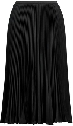 Polo Ralph Lauren Rese Pleated A-Line Skirt