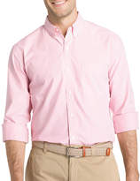 Izod Long Sleeve Stripe Button-Front Shirt