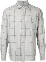 Margaret Howell checked shirt - men - Linen/Flax - L