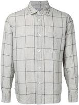 Margaret Howell checked shirt - men - Linen/Flax - M