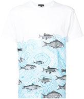 Comme des Garcons Fornasetti fish print T-shirt - men - Cotton - L